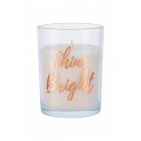 Candlelight Shine Bright Rose Gold Świeczka zapachowa 220g
