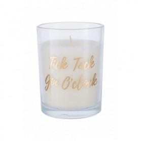 Candlelight Tick Tock Gin O´clock Gold Świeczka zapachowa 220g