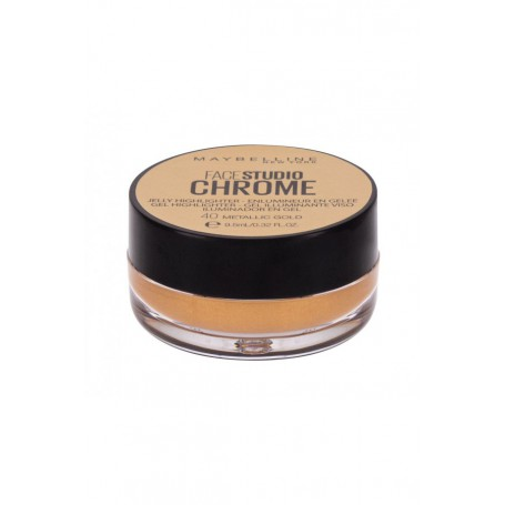 Maybelline FaceStudio Chrome Rozświetlacz 9,5ml 40 Metallic Gold