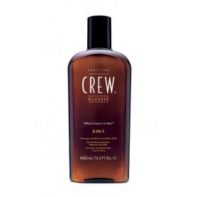American Crew 3-IN-1 Shampoo, Conditioner & Body Wash Szampon do włosów 450ml