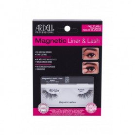 Ardell Magnetic Liner & Lash Accent 002 Sztuczne rzęsy 1szt Black zestaw upominkowy