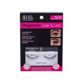 Ardell Magnetic Liner & Lash 110 Sztuczne rzęsy 1szt Black zestaw upominkowy