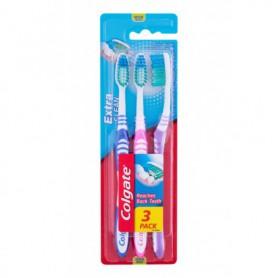 Colgate Extra Clean Medium Szczoteczka do zębów 3szt