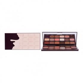 Makeup Revolution London I Heart Revolution Chocolate Cienie do powiek 21,96g Nudes