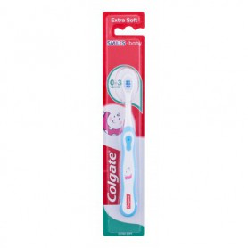 Colgate Kids Smiles Baby Extra Soft 0-3 Szczoteczka do zębów 1szt