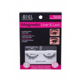 Ardell Magnetic Liner & Lash Demi Wispies Sztuczne rzęsy 1szt Black zestaw upominkowy