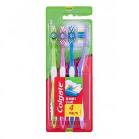 Colgate Premier Clean Medium Szczoteczka do zębów 4szt