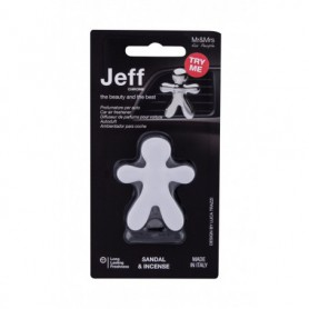 Mr&Mrs Fragrance Jeff Sandal & Incense Zapach samochodowy 1szt