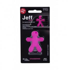 Mr&Mrs Fragrance Jeff Strawberries Zapach samochodowy 1szt