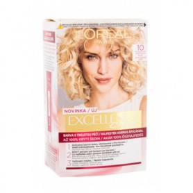 L´Oréal Paris Excellence Creme Triple Protection Farba do włosów 48ml 10 Lightest Ultimate Blonde