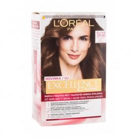 L´Oréal Paris Excellence Creme Triple Protection Farba do włosów 48ml 5,02 Light Brown