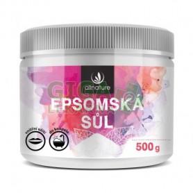 Allnature Epsom Salt Sól do kąpieli 500g