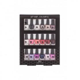 2K Let´s Get Colourful! Lakier do paznokci 3,5ml zestaw upominkowy