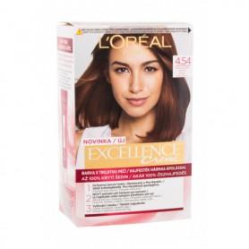 L´Oréal Paris Excellence Creme Triple Protection Farba do włosów 48ml 4,54 Natural Dark Copper Mahogany