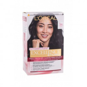 L´Oréal Paris Excellence Creme Triple Protection Farba do włosów 48ml 100 Black