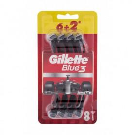 Gillette Blue3 Red Maszynka do golenia 8szt