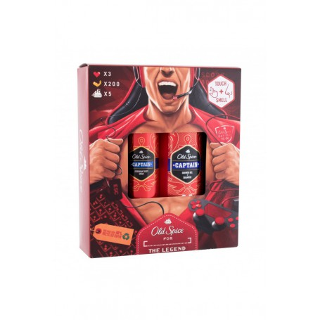 Old Spice Captain Dezodorant 150ml zestaw upominkowy