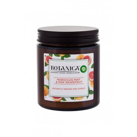 Air Wick Botanica Moroccan Mint & Pink Grapefruit Świeczka zapachowa 205g