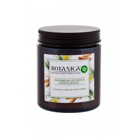 Air Wick Botanica Caribbean Vetiver & Sandalwood Świeczka zapachowa 205g