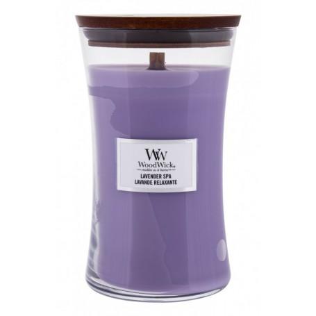 WoodWick Lavender Spa Świeczka zapachowa 610g