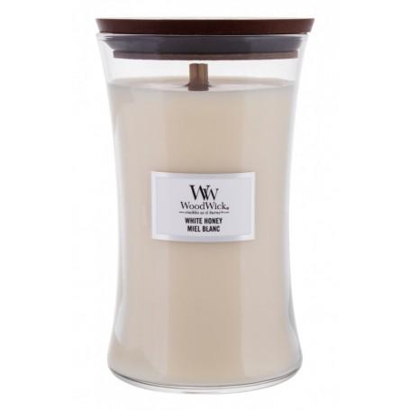 WoodWick White Honey Świeczka zapachowa 610g