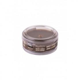 WoodWick Amber & Incense Świeczka zapachowa 31g