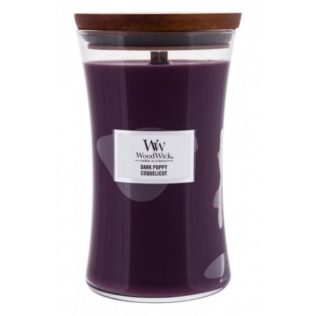 WoodWick Dark Poppy Świeczka zapachowa 610g