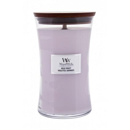 WoodWick Wild Violet Świeczka zapachowa 610g