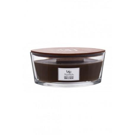 WoodWick Amber & Incense Świeczka zapachowa 453,6g