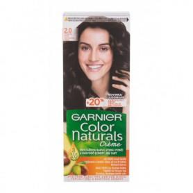 Garnier Color Naturals Créme Farba do włosów 40ml 2,0 Soft Black