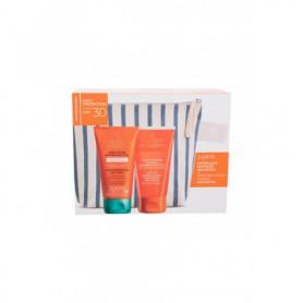 Collistar Special Perfect Tan Active Protection Sun Cream SPF30 Set Preparat do opalania ciała 150ml zestaw upominkowy