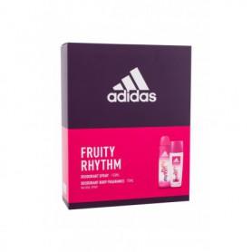 Adidas Fruity Rhythm For Women Dezodorant 75ml zestaw upominkowy