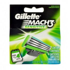 Gillette Mach3 Sensitive Wkład do maszynki 4szt