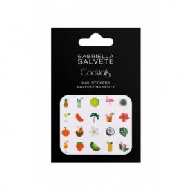 Gabriella Salvete Cocktails Nail Stickers Pielęgnacja paznokci 1szt