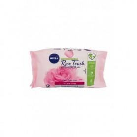 Nivea Rose Touch Micellar Wipes With Organic Rose Water Chusteczki oczyszczające 25szt