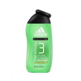Adidas 3in1 Active Start Żel pod prysznic 250ml