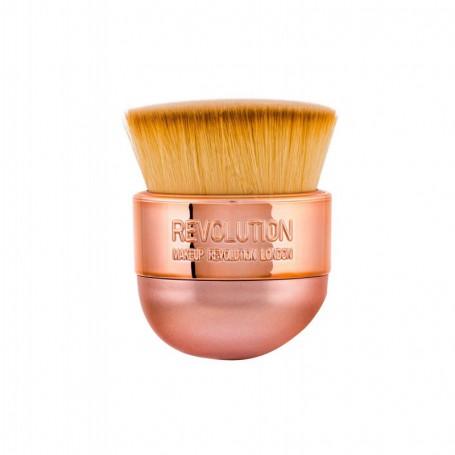Makeup Revolution London Brushes Oval Precision Kabuki Pędzel do makijażu 1szt