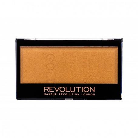 Makeup Revolution London Ingot Rozświetlacz 12g Gold
