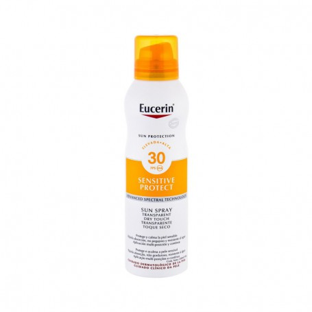 Eucerin Sun Sensitive Protect Sun Spray Dry Touch SPF30 Preparat do opalania ciała 200ml