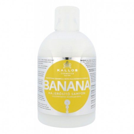 Kallos Cosmetics Banana Szampon do włosów 1000ml
