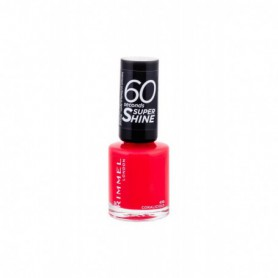 Rimmel London 60 Seconds Super Shine Lakier do paznokci 8ml 430 Coralicious