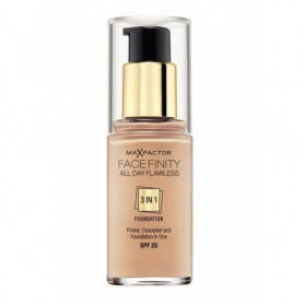 Max Factor Facefinity All Day Flawless 3in1 SPF20 Podkład 30ml 33 Crystal Beige