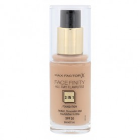 Max Factor Facefinity All Day Flawless 3in1 SPF20 Podkład 30ml 80 Bronze