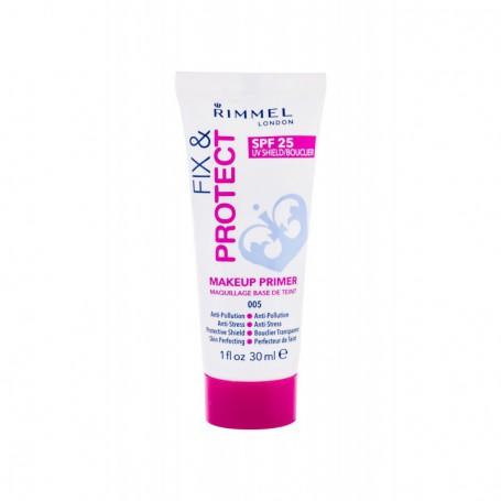 Rimmel London Fix & Protect Makeup Primer SPF25 Baza pod makijaż 30ml 005