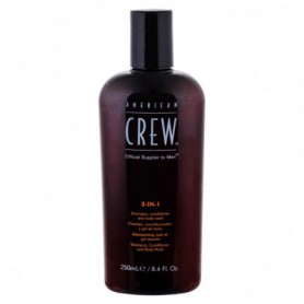 American Crew 3-IN-1 Shampoo, Conditioner & Body Wash Szampon do włosów 250ml