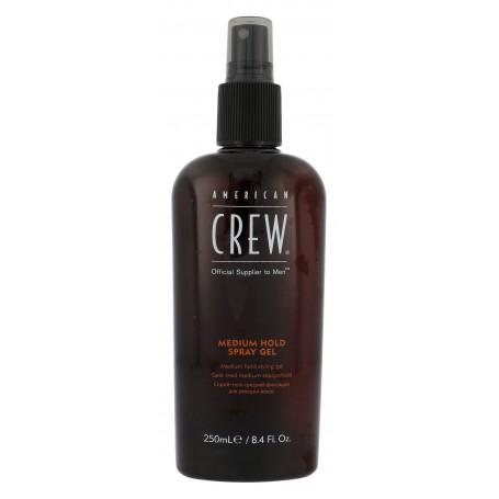American Crew Classic Medium Hold Spray Gel Żel do włosów 250ml