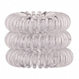 Invisibobble The Traceless Hair Ring Gumka do włosów 3szt Crystal Clear