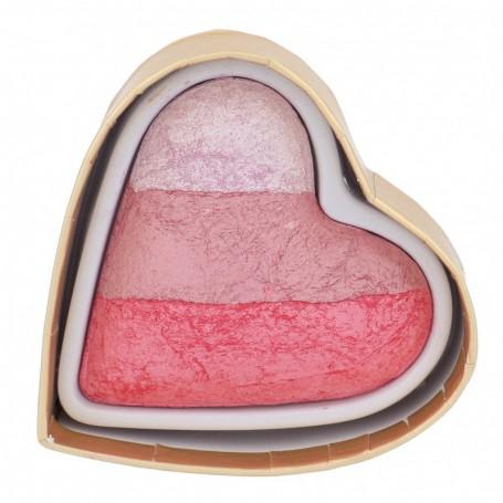 Makeup Revolution London I Heart Makeup Blushing Hearts Róż 10g Bursting With Love