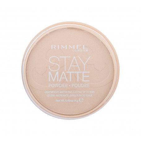 Rimmel London Stay Matte Puder 14g 003 Peach Glow