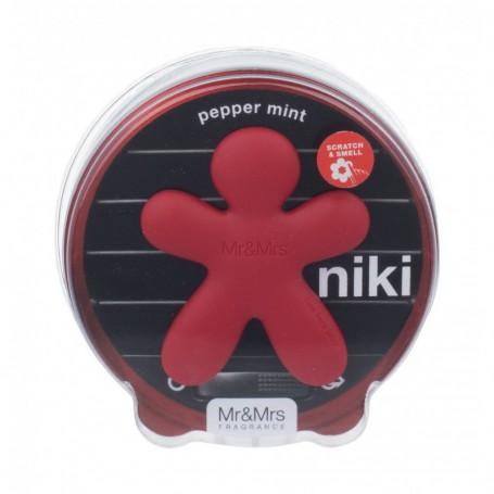 Mr&Mrs Fragrance Niki Pepper Mint Zapach samochodowy 1szt